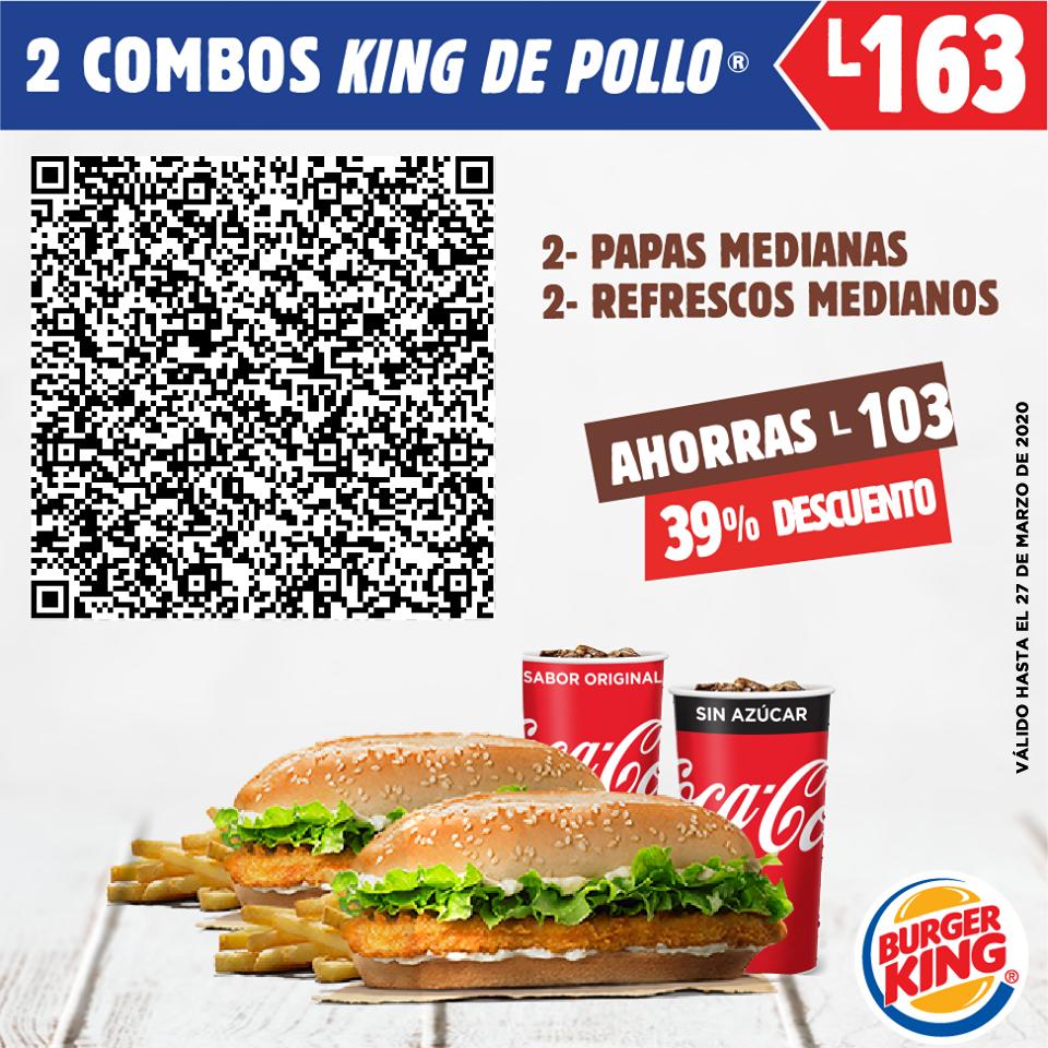 2 combos King de Pollo